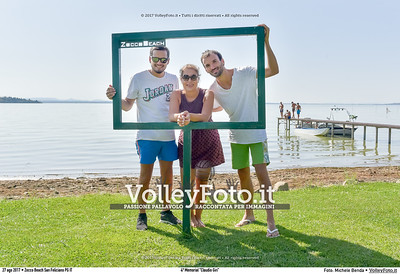 """durante 4º Memorial """"Claudio Giri"""", Torneo di Sand Volley 3x3 misto. presso Zocco Beach San Feliciano PG IT, 27 agosto 2017. Foto: Michele Benda [riferimento file: 2017-08-27/_7503706]"""
