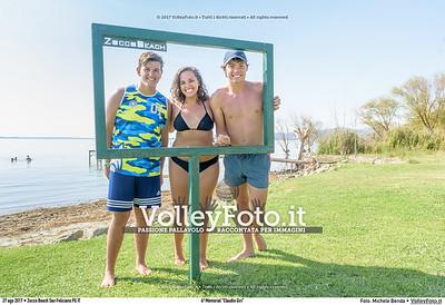 """durante 4º Memorial """"Claudio Giri"""", Torneo di Sand Volley 3x3 misto. presso Zocco Beach San Feliciano PG IT, 27 agosto 2017. Foto: Michele Benda [riferimento file: 2017-08-27/_7503731]"""