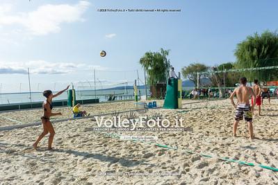 """5ª Edizione Memorial """"Claudio Giri"""" presso Zocco Beach San Feliciano PG IT, 26 agosto 2018 - Foto di Michele Benda per VolleyFoto [Riferimento file: 2018-08-26/_DSC2429]"""