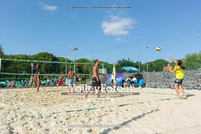 """5ª Edizione Memorial """"Claudio Giri"""" presso Zocco Beach San Feliciano PG IT, 26 agosto 2018 - Foto di Michele Benda per VolleyFoto [Riferimento file: 2018-08-26/_DSC2426]"""