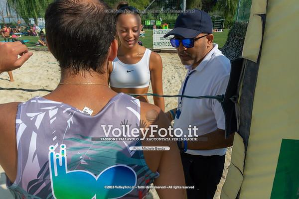 presso Zocco Beach , 25 agosto 2018 - Foto di Michele Benda per VolleyFoto [Riferimento file: 2018-08-25/_DSC2343]