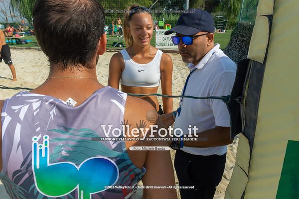 presso Zocco Beach , 25 agosto 2018 - Foto di Michele Benda per VolleyFoto [Riferimento file: 2018-08-25/_DSC2342]