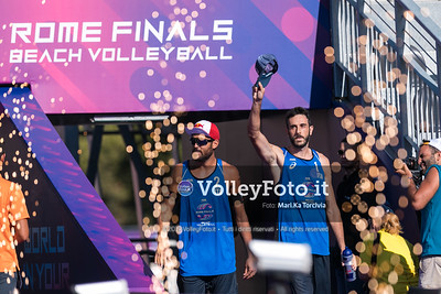 Nicolai - Lupo ITA vs Ontiveros - Virgen MEX [Pool A Men] FIVB Beachvolleyball World Tour Finals presso Foro Italico Rome IT, 5 settembre 2019. Foto: MariKa Torcivia per VolleyFoto.it [riferimento file: 2019-09-05/Cover5-6]