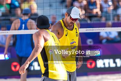 Nicolai - Lupo ITA vs Ontiveros - Virgen MEX [Pool A Men] FIVB Beachvolleyball World Tour Finals presso Foro Italico Rome IT, 5 settembre 2019. Foto: MariKa Torcivia per VolleyFoto.it [riferimento file: 2019-09-05/Cover5-6]