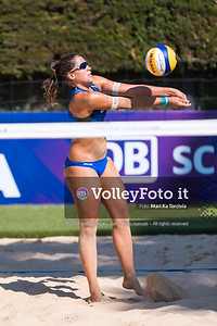 Pavan - Melissa CAN vs Puccinelli - Scampoli ITA [Pool A Women], FIVB Beachvolleyball World Tour Finals presso Foro Italico Rome IT, 5 settembre 2019. Foto: MariKa Torcivia per VolleyFoto.it [riferimento file: 2019-09-05/Cover5-1]
