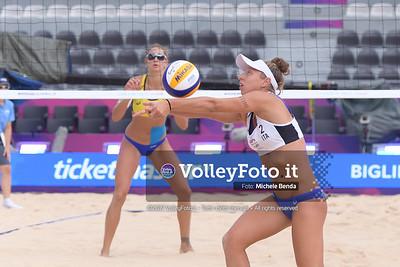 Puccinelli - Scampoli ITA vs Stubbe J. - Van Iersel NED [Pool A Women],