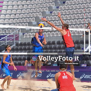 Windisch - Cottafava ITA vs Semenov - Leshukov RUS [Pool C Men], FIVB Beachvolleyball World Tour Finals IT, 6 settembre 2019. Foto: Michele Benda per VolleyFoto.it [riferimento file: 2019-09-06/ND5_9681]