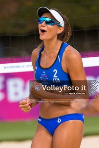Zuccarelli - Traballi ITA vs Strbova - Dubovcova SVK [Pool B Women], FIVB Beachvolleyball World Tour Finals presso Foro Italico Rome IT, 5 settembre 2019. Foto: MariKa Torcivia per VolleyFoto.it [riferimento file: 2019-09-05/Cover6-11K]