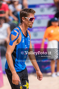 Herrera - Gavina ESP vs Crabb Ta. - Gibb USA [Round 3 Men], FIVB Beachvolleyball World Tour Finals presso Foro Italico Rome IT, 7 settembre 2019. Foto: Michele Benda per VolleyFoto.it