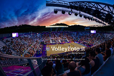Mol A. - Sørum C. NOR vs Crabb Ta. - Gibb USA [Bronze Medal Match MEN], FIVB Beachvolleyball World Tour Finals presso Foro Italico Rome IT, 8 settembre 2019. Foto: MariKa Torcivia per VolleyFoto.it [riferimento file: 2019-09-08/Cover-F3M]