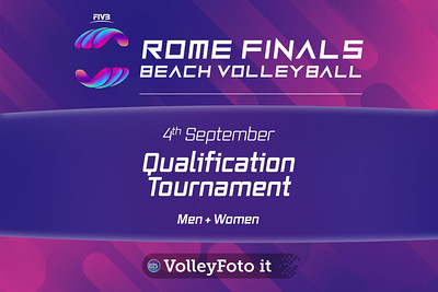 Qualification Tournament (Men and Women) FIVB Beachvolleyball World Tour Finals presso Foro Italico Rome IT, 4 settembre 2019. Foto: MariKa Torcivia per VolleyFoto.it