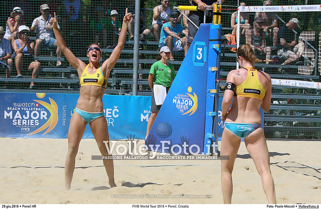 """FIVB World Tour 2016 • Swatch Beach Volleyball Major Series  POREČ, Croatia • Jun 28 • FOTO: <a class=""""vf-fotografo"""" href=""""http://www.volleyfoto.it/About"""">Paolo Miccoli</a> © 2016 Volleyfoto.it, all rights reserved [id:20160629.I56A0323]"""
