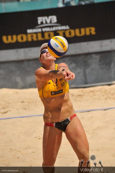 Ross-Kessy USA | Liliana-Baquerizo ESP > FIVB Beach Volley World Tour | Grand Slam Roma 2013