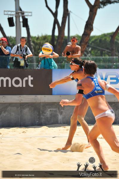 Greta Cicolari e Marta Menegatti ITA > FIVB Beach Volleyball World Tour | Grand Slam Roma 2013