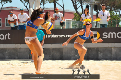 Marta Menegatti e Greta Cicolari ITA > FIVB Beach Volleyball World Tour | Grand Slam Roma 2013