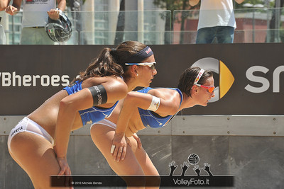 Greta Circolari e Marta Menegatti ITA @ FIVB Beach Volleyball World Tour | Grand Slam Roma 2013
