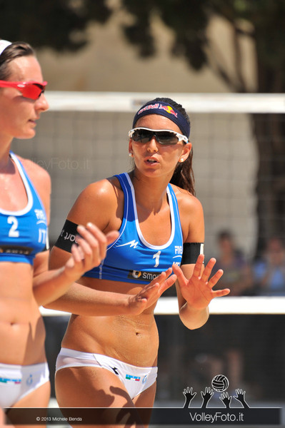 Greta Cicolari e Marta Menegatti ITA > FIVB Beach Volleyball World Tour | Grand Slam Roma 2013