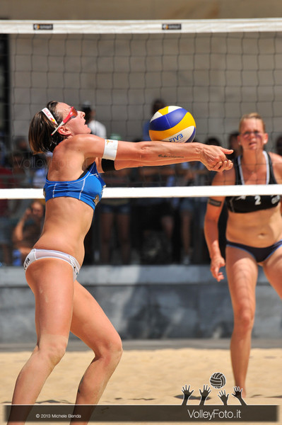 Greta Cicolari ITA > Circolari-Menegatti ITA vs Borger-Büthe GER | FIVB Beach Volleyball World Tour | Grand Slam Roma 2013