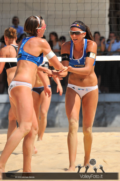 > Circolari-Menegatti ITA vs Borger-Büthe GER | FIVB Beach Volleyball World Tour | Grand Slam Roma 2013