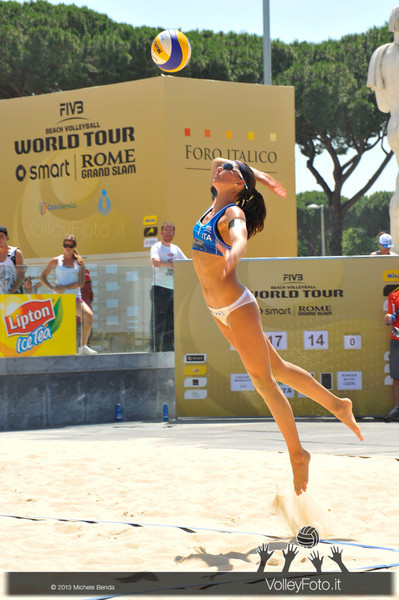 Marta Menegatti ITA > FIVB Beach Volleyball World Tour | Grand Slam Roma 2013