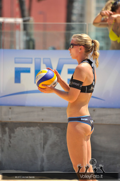 Karla Borger GER > Circolari-Menegatti ITA vs Borger-Büthe GER | FIVB Beach Volleyball World Tour | Grand Slam Roma 2013