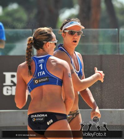 Daniela Gioria e Laura Giombini > FIVB Beach Volley World Tour | Grand Slam Roma 2013