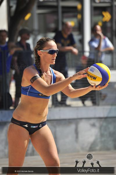 Daniela Gioria in battuta