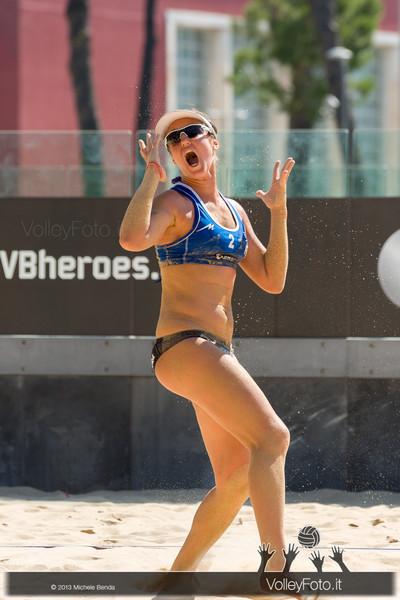 Laura Giombini > FIVB Beach Volley World Tour | Grand Slam Roma 2013