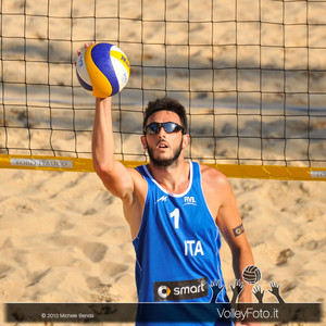 Paolo Nicolai > FIVB Beach Volleyball World Tour | Rome Grand Slam 2013