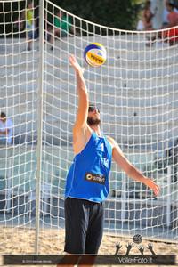 Paolo Nicolai in Battuta > FIVB Beach Volleyball World Tour | Rome Grand Slam 2013