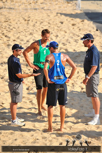 sorteggio iniziale > Nicolai-Lupo ITA vs Nummerdor-Schuil NED | FIVB Beach Volleyball World Tour | Rome Grand Slam 2013