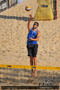 Paolo Nicolai in Battuta > FIVB Beach Volleyball World Tour | Rome Grand Slam 2013
