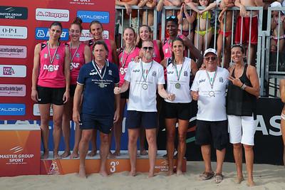 Lega Volley Summer Tour 2019 21^ Coppa Italia di Sand Volley 4x4 PREMIAZIONI Marina di Vasto (CH) - Domenica 7 luglio 2019
