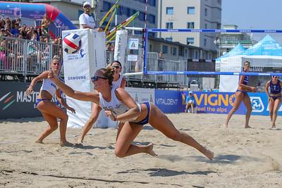 Samsung Lega Volley Summer Tour 2018 14^ SuperCoppa Italiana di Sand Volley 4x4 Fase a gironi e fase ad incroci Cesenatico (FC) - Sabato 14 luglio 2018