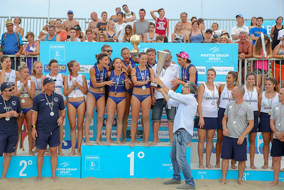 Samsung Lega Volley Summer Tour 2018 14^ SuperCoppa Italiana di Sand Volley 4x4 PREMIAZIONI Cesenatico (FC) - Domenica 15 luglio 2018