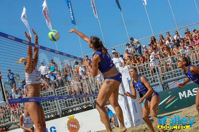 Samsung Lega Volley Summer Tour 2018 20^ Coppa Italia di Sand Volley 4x4 Fase a gironi e fase ad incroci Lido di Camaiore (LU) - Sabato 7 luglio 2018