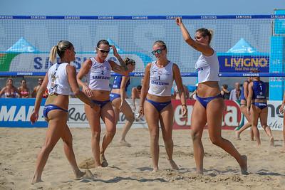 Samsung Lega Volley Summer Tour 2018 Scudetto - Sand Volley 4x4 Fase a gironi e fase ad incroci Lignano Sabbiadoro (UD) - Sabato 28 luglio 2018