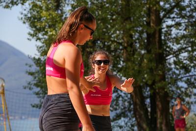 Swiss Volley Junior BeachTour U15 BeachVolley Club - Lido di Ascona - Svizzera - 1 agosto 2020