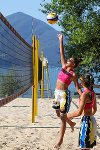 Swiss Volley Junior BeachTour U15 BeachVolley Club - Lido di Ascona - Svizzera - 1 agosto 2020