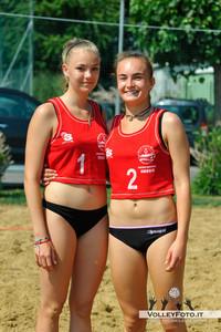 Giulia Gierek Eva Spacci - Torneo Beach Volley dell'Umbria 2013, La Marangola Sport Beach Castiglione del Lago PG