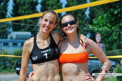 Serena Umbertini, Francesca Valentini - Torneo Beach Volley dell'Umbria 2013, La Marangola Sport Beach Castiglione del Lago PG
