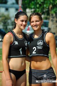 Anna Corselli - Cristina Bartolucci - Torneo Beach Volley dell'Umbria 2013, La Marangola Sport Beach Castiglione del Lago PG