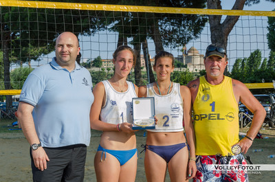 Terze Classificate: Sharon Garganese - Beatrice Meniconi
