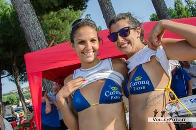 """Carolina Pacube De Leo - Gianna Paradisi - Torneo Beach Volley dell'Umbria 2013, """"La Marangola Sports Beach"""" Castiglione del Lago PG"""