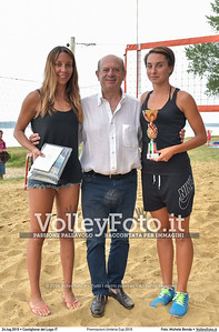 Alice Francesca Bertolaso, Giulia Lo Prieno, 3ª classificata