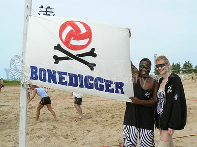 Beach Volleyball: Bonedigger Charity Invitational
