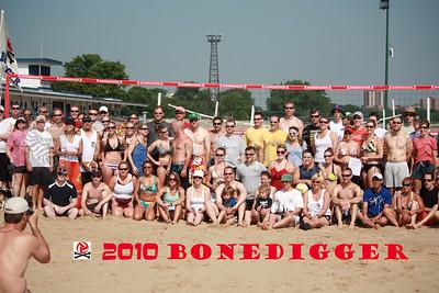2010 Bonedigger Volleyball Event - Montrose Beach