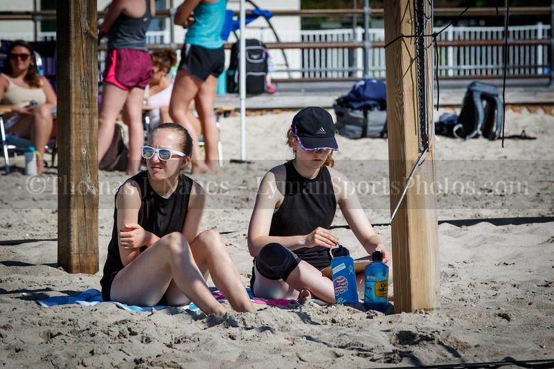 The Sandbox Juniors Beach Volleyball Tournament at Ocean Beach Park, New London, Connecticut