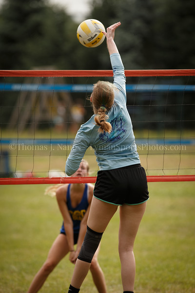 Callie and Kuranda - South County Grass Volleyball Tournament, North Kingstown, RI - 16U Girls Winner