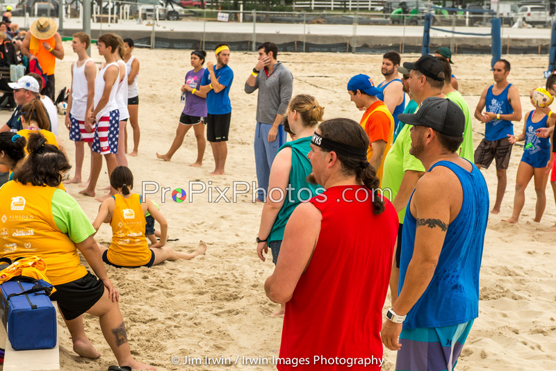 Adult Teams at Special Olympic Sand Tournament